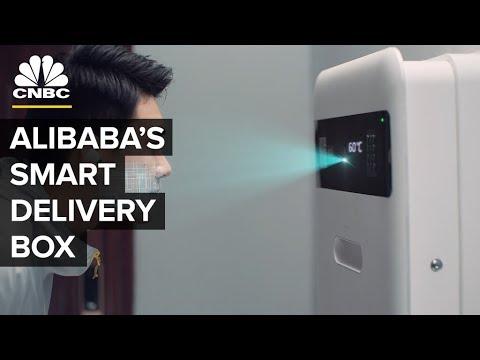 Alibaba Developed A Smart Locker With Temperature Control | CNBC
