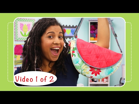 Gracie Saddle Bag Video Tutorial by Crafty Gemini - Video 1 of 2
