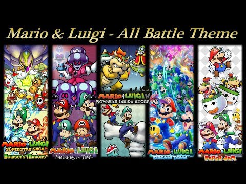 Mario Luigi OST All Battle Theme DX,K1VUK - VideosTube