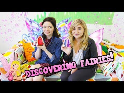 Kelly & Carly Vlogs : DISCOVERING FAIRY DOORS! - Irish Fairy Company