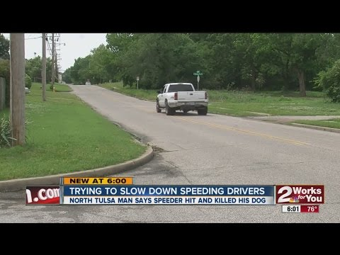 Trying To Slow Down Speeding Drivers