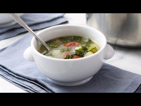 Sausage and Kale Soup- Martha Stewart