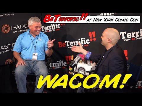 Wacom at New York Comic Con