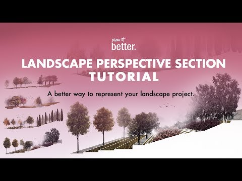 Landscape Perspective Section Tutorial
