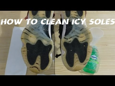 AJ 11 Low How To Clean Icy Soles 2017