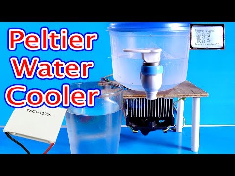 Water Cooler Using peltier module  | How to make