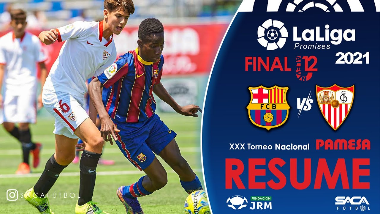FINAL FC Barcelona vs Sevilla FC | LaLiga Promises U12 Alevin 2021