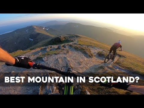 First Time Riding Over 1000m! - Ben Lawers #99