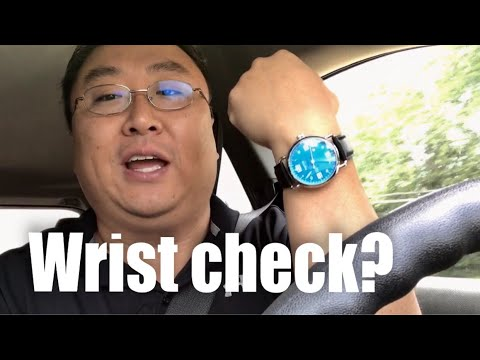 Why I don't do a wrist check in my videos