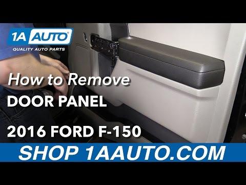 How to Remove Passenger Door Panel 15-19 F-150