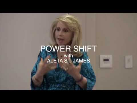 Aleta St. James Does Amazing Healing in NYC!