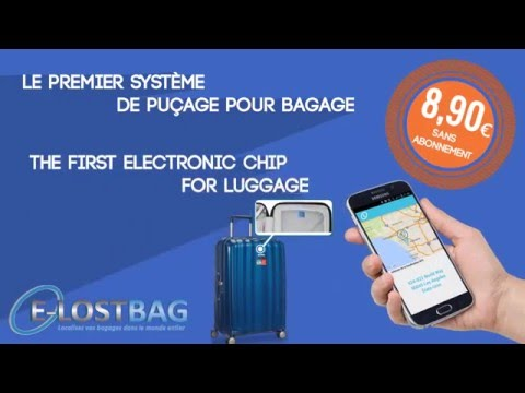 E-LOSTBAG - Puçage Electronique Bagage - Electronic Chip For Luggage
