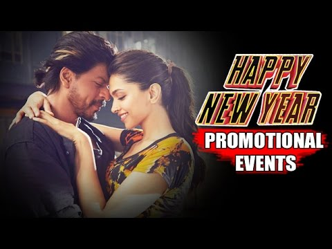 Happy New Year Movie (2014) Promotional Events | Shah Rukh Khan, Deepika Padukone