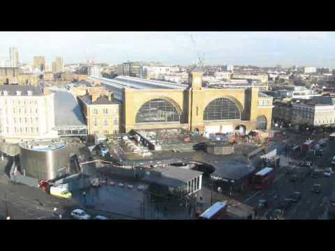 King's Cross redevelopment © Network Rail