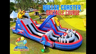 Roller Coaster Inflatable Obstacle Course | World