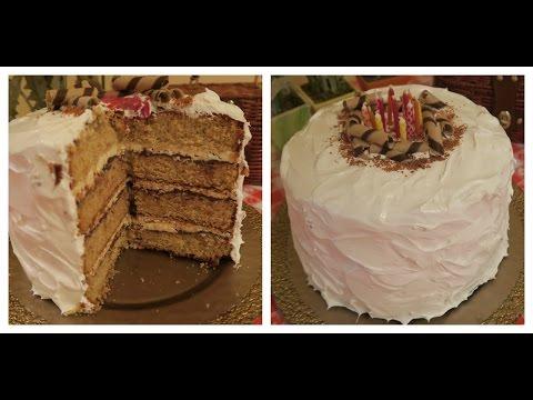 S'mores Honey Graham Cake