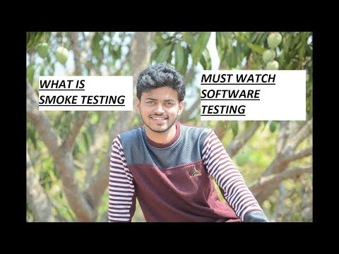 WHAT IS SMOKE TESTING?SOFTWARE TESTING INTERVIEW QUESTION BY NITIN SURANGE