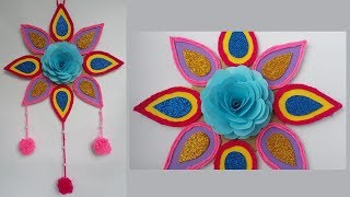 How To Make Beautiful Paper Wall Hanging For Home