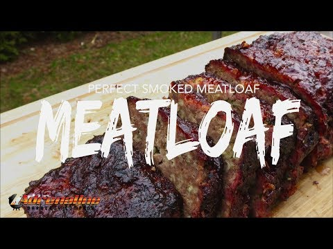 Smoked Meatloaf Recipe - How to BBQ Meatloaf using the Slow 'N Sear and Weber Kettle Grill Easy.