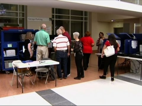 Early Voting Underway in Florida and Texas