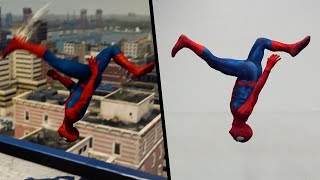 Download Stunts From Spiderman PS4 In real Life (Parkour) Video