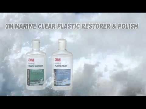 SPECIAL OFFER! 3M MARINE CLEAR PLASTIC RESTORER & POLISH NOW €29.89 INC.VAT!
