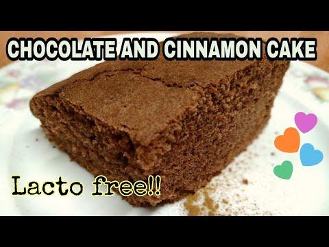 Chocolate and cinnamon cake / spanish recipes with sofia