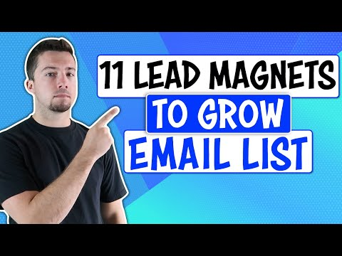 How to Get More Email Subscribers (11 Lead Magnet Ideas)