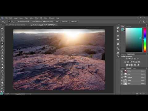 Adobe Photoshop CC RGB Vs. CMYK