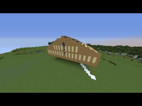 the roof of His house   Building Stampy's House #4