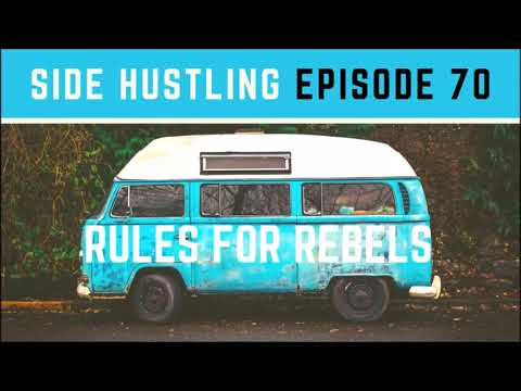 Side Hustling Ep. 70: Man Makes $1200 Month Traveling the World Reviewing Products | Digital Nomad