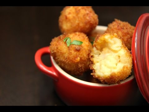 Fried Mac and Cheese Balls - Cooked by Julie episode 314