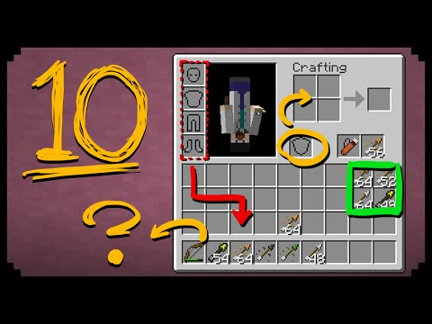 ✔ Minecraft: 10 Things You Didn't Know About the Inventory