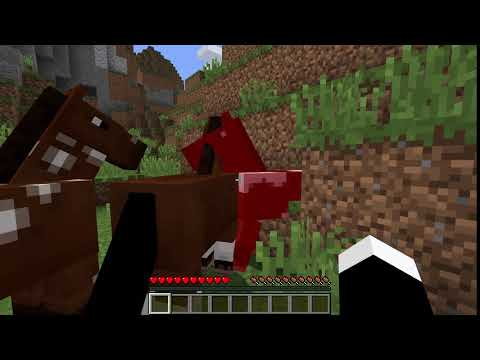 I found the horse and is dying but gets saved