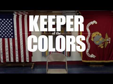 Keeper of the Colors | The Color Sergeant of the Marine Corps