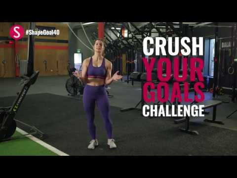 The 10-Minute Fitness Test | #CrushYourGoals with Jen Widerstrom | SHAPE