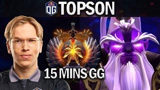 OG.TOPSON VOID SPIRIT - 15 MINS GG - DOTA 2 7.25 GAMEPLAY