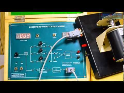 Speed Control of DC Servo Motor using PID Controller