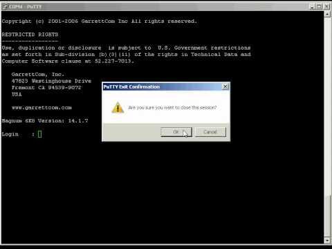 GarrettCom: Switch Command Line IP Settings