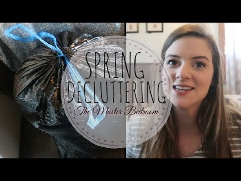 SPRING DECLUTTERING | MASTER BEDROOM | MINIMALISM CHALLENGE!