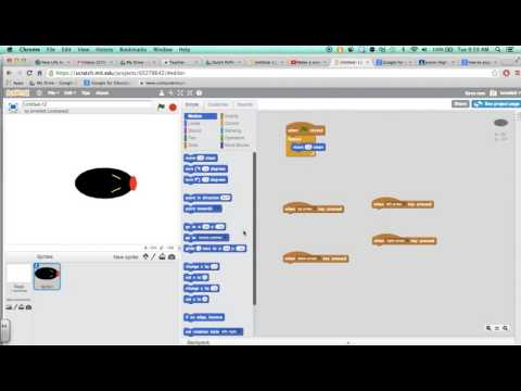 Scratch: How to Create a Snake Game: Making a Head & Movement