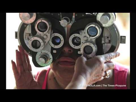 Free eye exams and glasses provided for those in need (video)