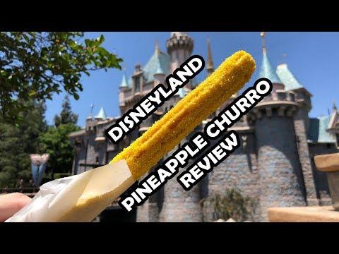 Disneyland Pineapple Churro Review