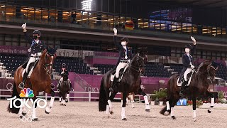 U.S. team rides to best dressage finish in 73 years | Tokyo Olympics | NBC Sports