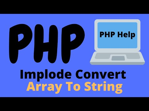 PHP Implode Convert Array To String