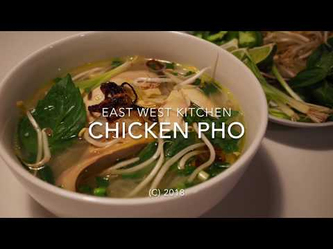 Pho Ga (Chicken Pho Soup)