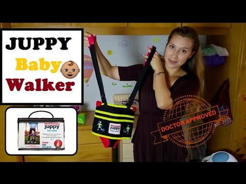 JUPPY Ultra Comfy Baby Walker 2016 - Teach your baby how to walk - Product Review - Thays Mami T