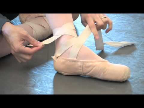 How to Tie Ballet Shoes