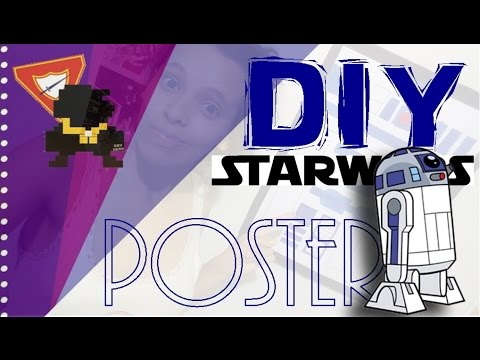 DIY: Star Wars| Poster R2D2