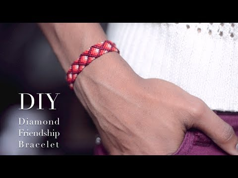 DIY Diamond Friendship Bracelet (Advanced)